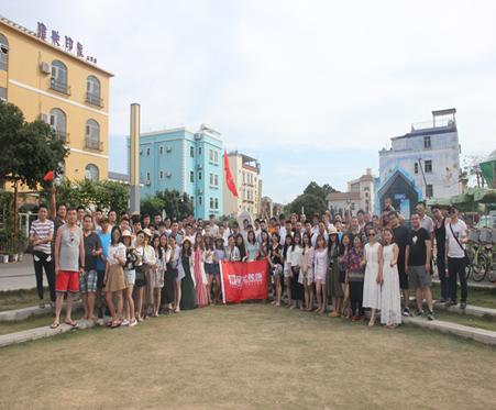 寮步、厚街、大朗4月份团队文化深圳较尾场海边