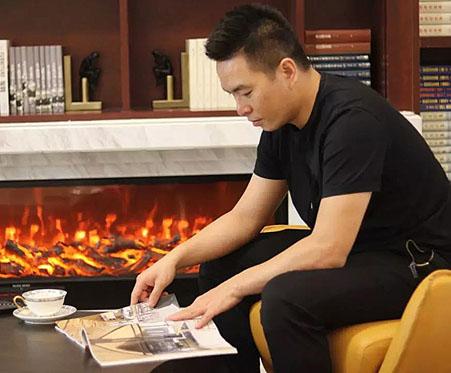 星艺粉饰结合房产频道配合打造专访节目:姚国健《家里的藏书楼》