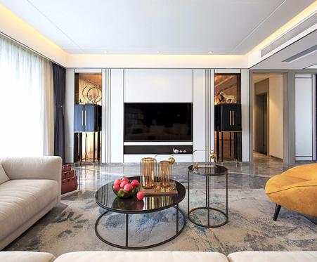 星设计·161期   220㎡住宅设计,轻奢、时尚,很有摩登范儿