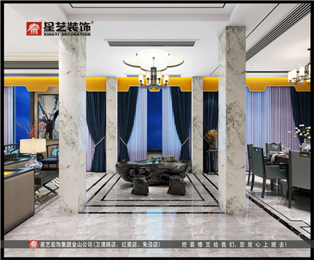 金山星艺装饰-设计师刘德清:白与黑的交响曲